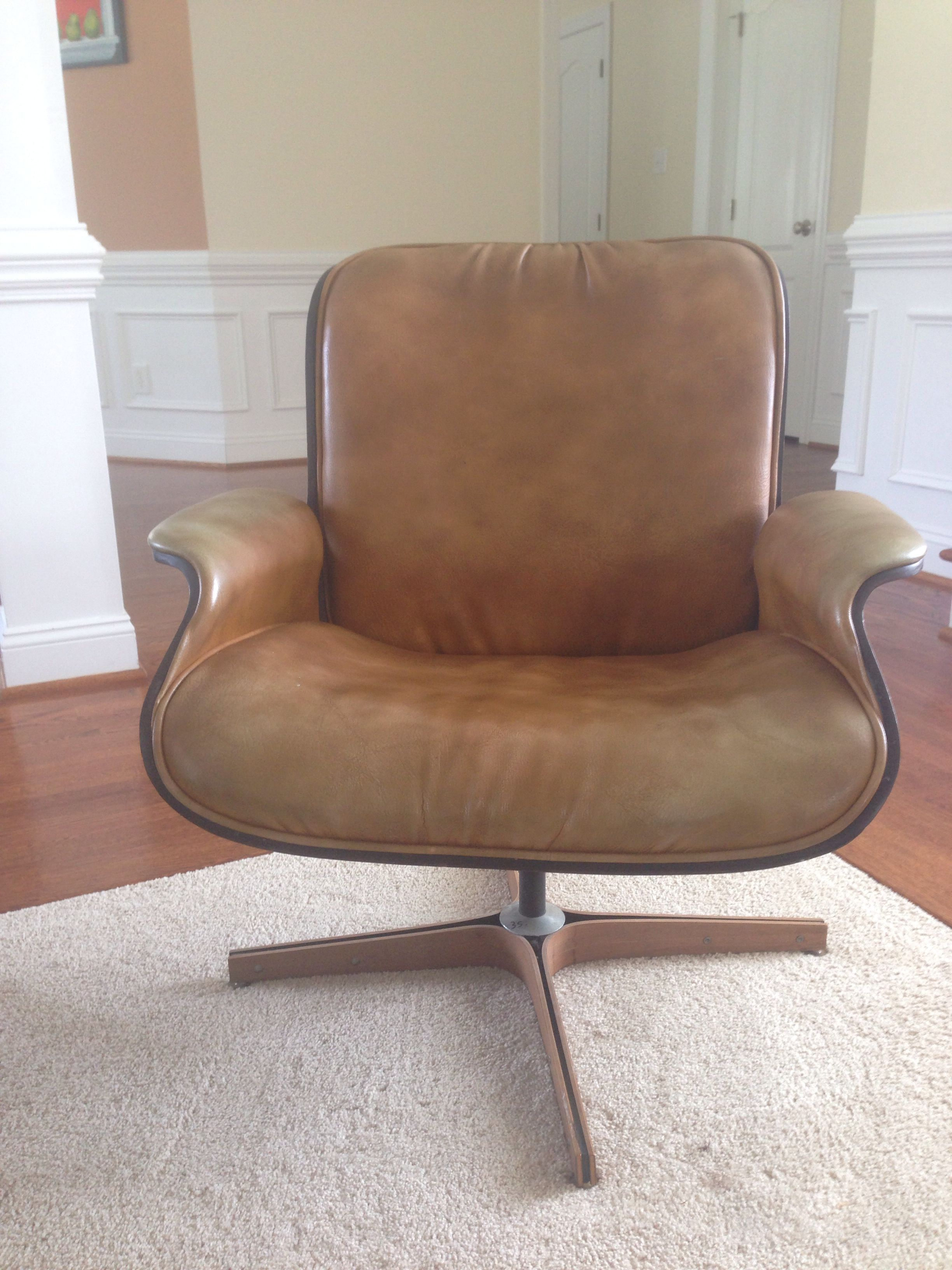 Mulhauser swivel chair. Chair, Furniture, Swivel