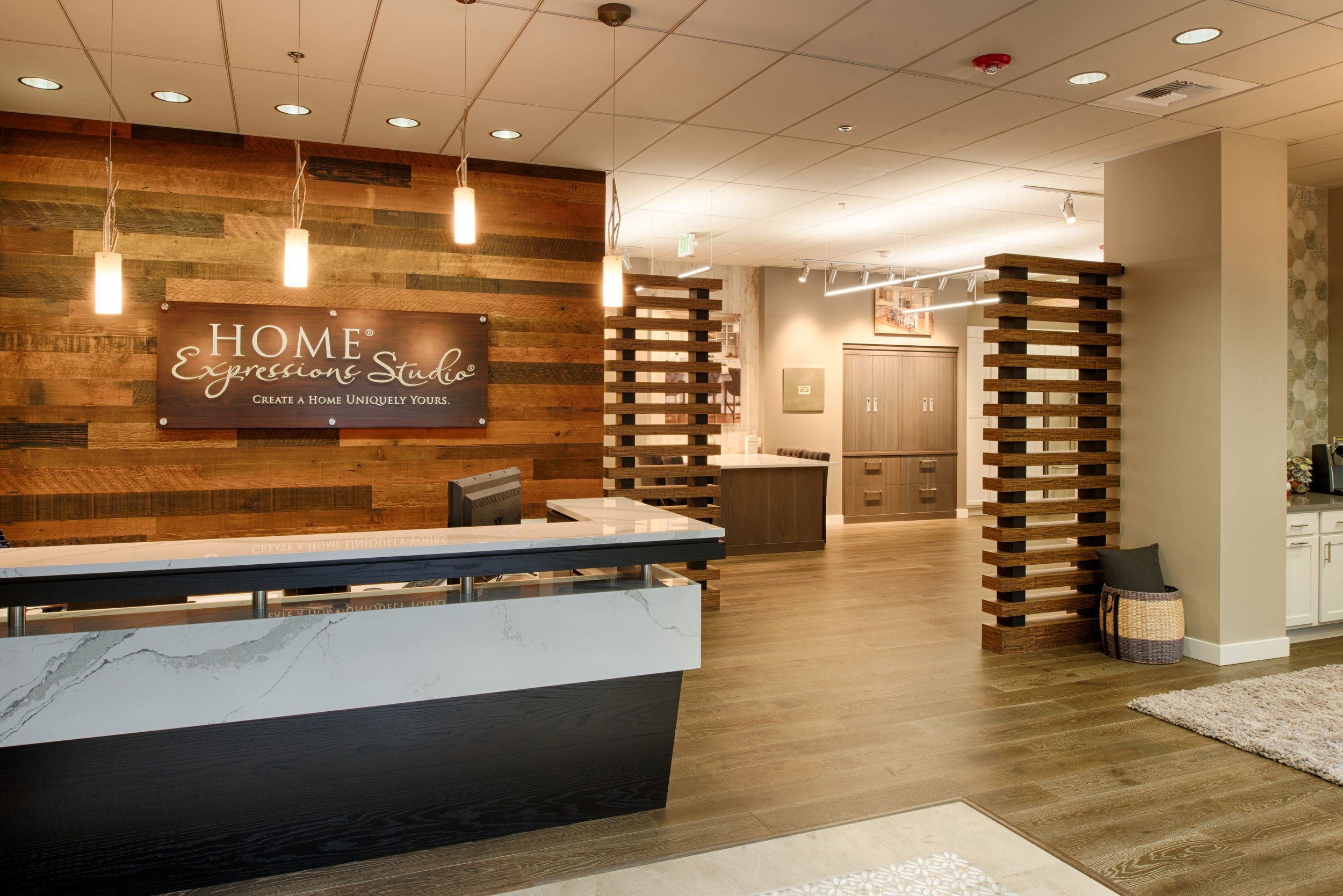 The Expressions Gallery Is A 4 200 Retail Showroom For Pulte Homes