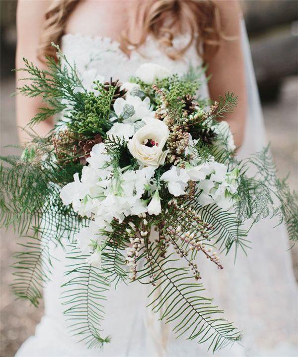 35 Amazing Winter Wedding Bouquets You\'ll Love | Winter weddings ...