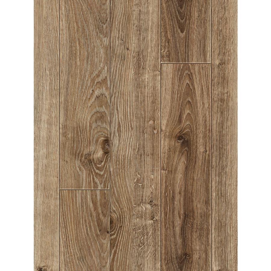 Shop Allen Roth 4 96 In W X 4 23 Ft L Handscraped Driftwood Oak Wood Plank Laminate Flooring At Lowes Co Oak Laminate Flooring Laminate Flooring Oak Laminate