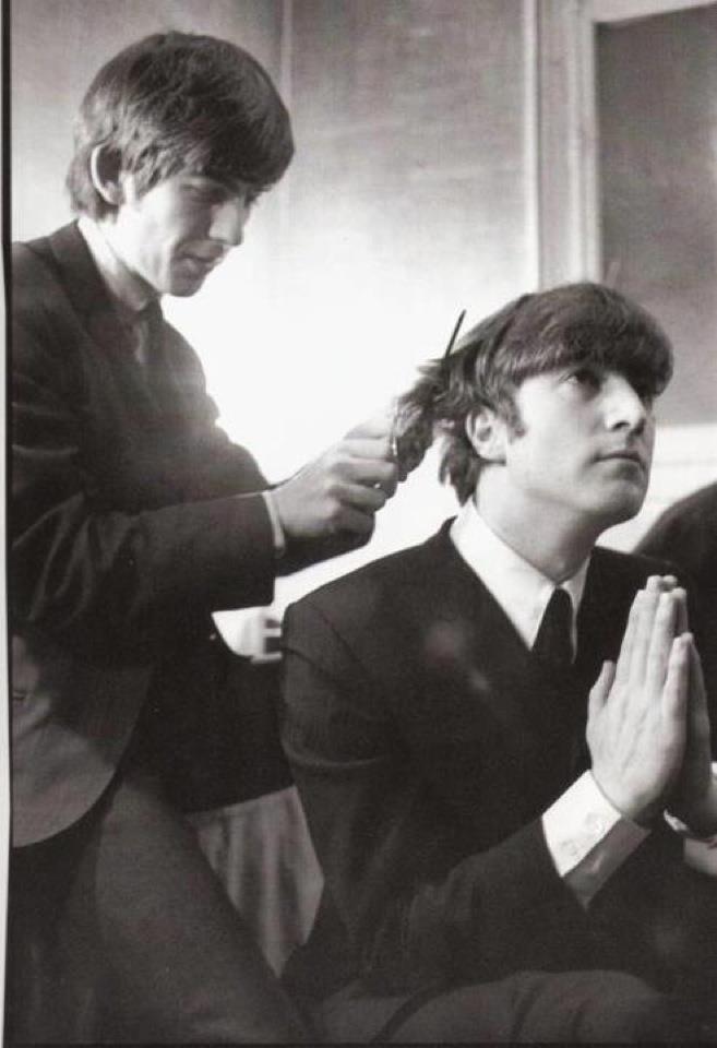 John Lennon Trusting George Harrison To Cut His Hair