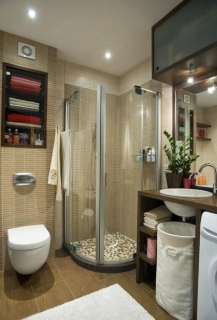 Comment am nager une petite salle de bain voici 26 id es - Comment repeindre une salle de bain ...