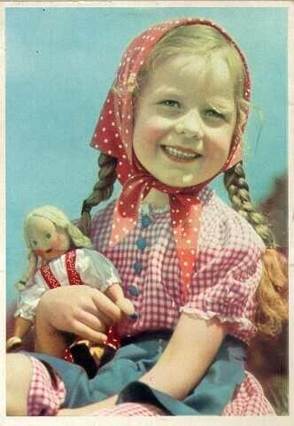 MY DOLLY & ME~Dutch girl & doll