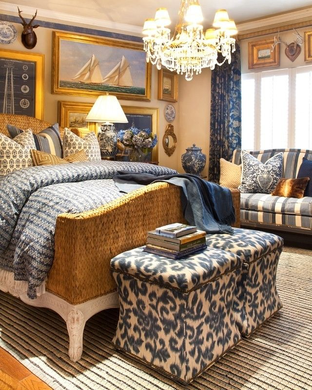 Beautiful blue and gold color sceme Decorating Sense Pinterest