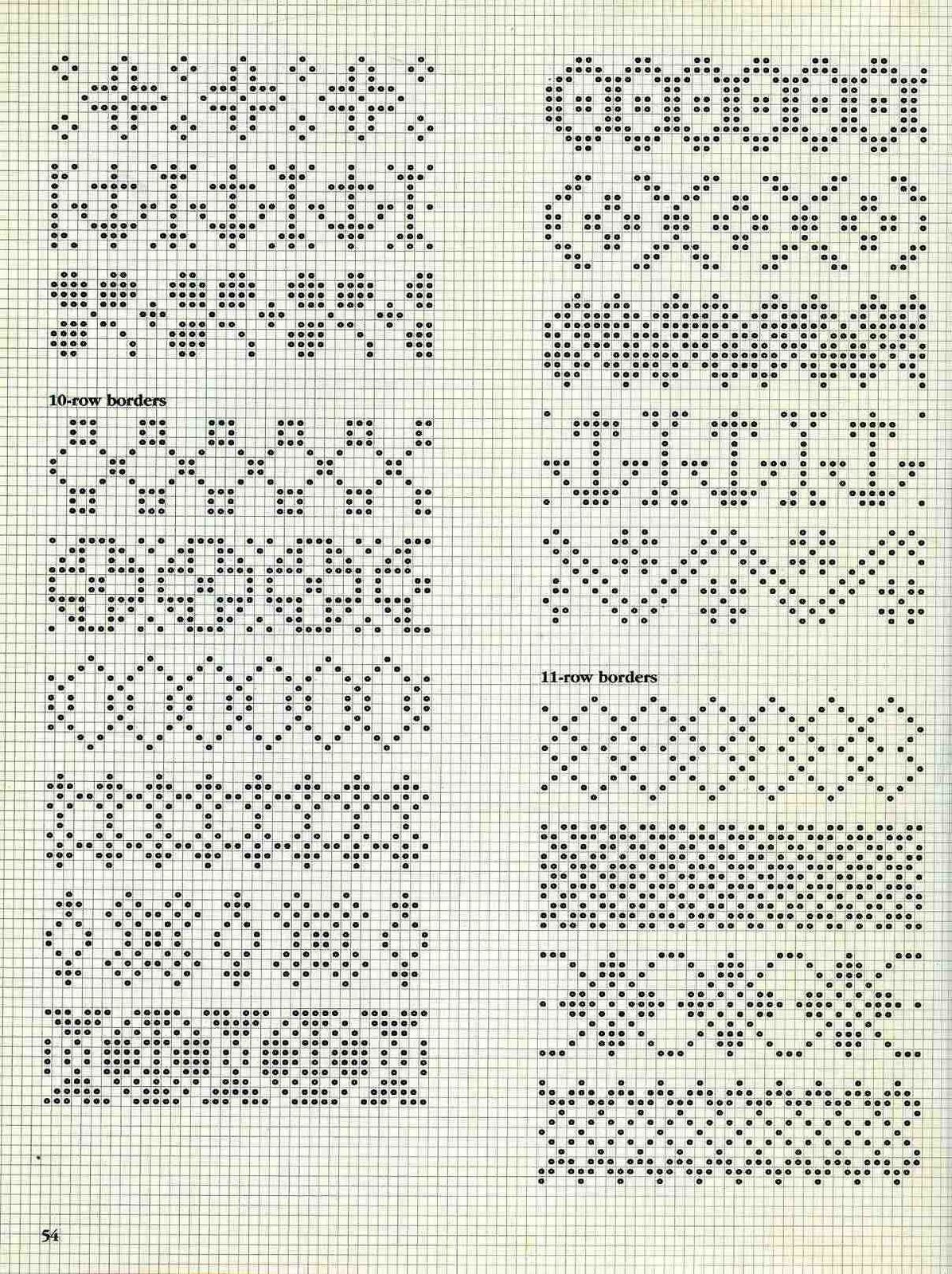 Nordic Knitting Motifs Fair Isle Knitting Patterns Cross Stitch Borders Fair Isle