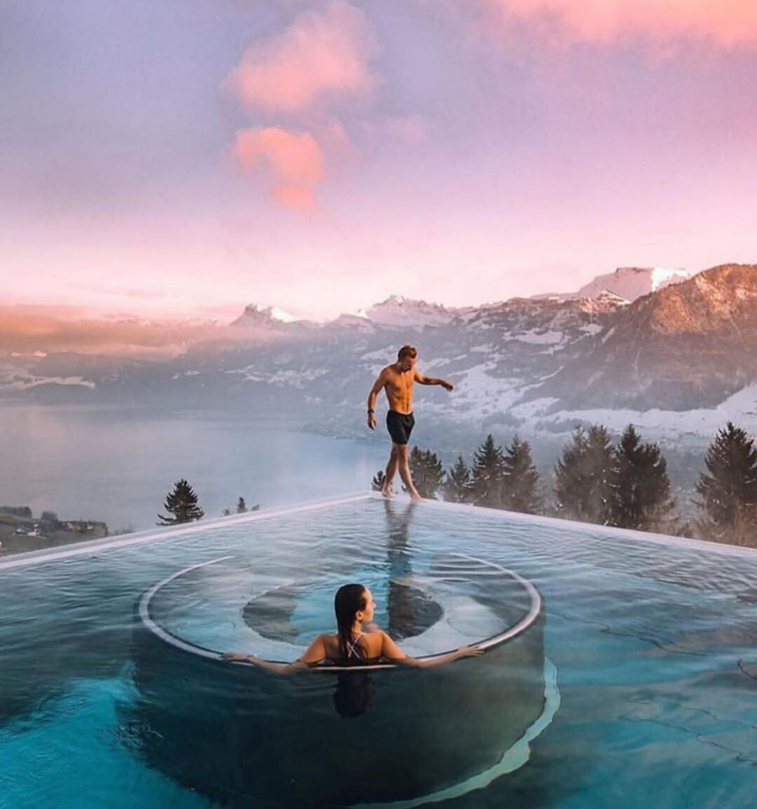 Best Hotel In Switzerland With Infinity Pool Visit Hotel Villa Honegg Switzerland Planning A Trip Check Out Explorsi We Match You With A Personalize In 2020 Switzerland Hotels Hotel Villa Honegg Destin Hotels