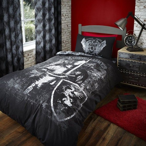 Valiant Knight Duvet Cover Unique Knights Bedding For