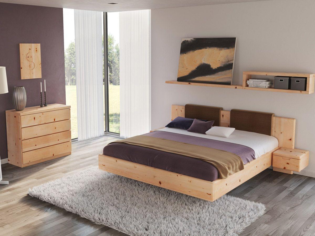 """Zirbenholzbett """"Lilli"""" (mit Bildern) Schlafzimmer design"""