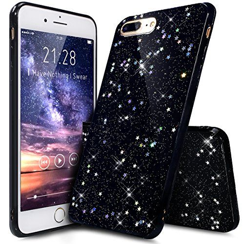 coque iphone 7 plus silicone paillette