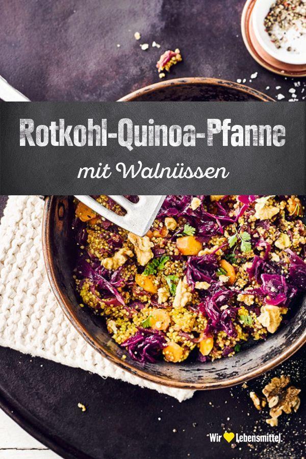 Photo of Red Cabbage Quinoa Pan – Recipe | EDEKA