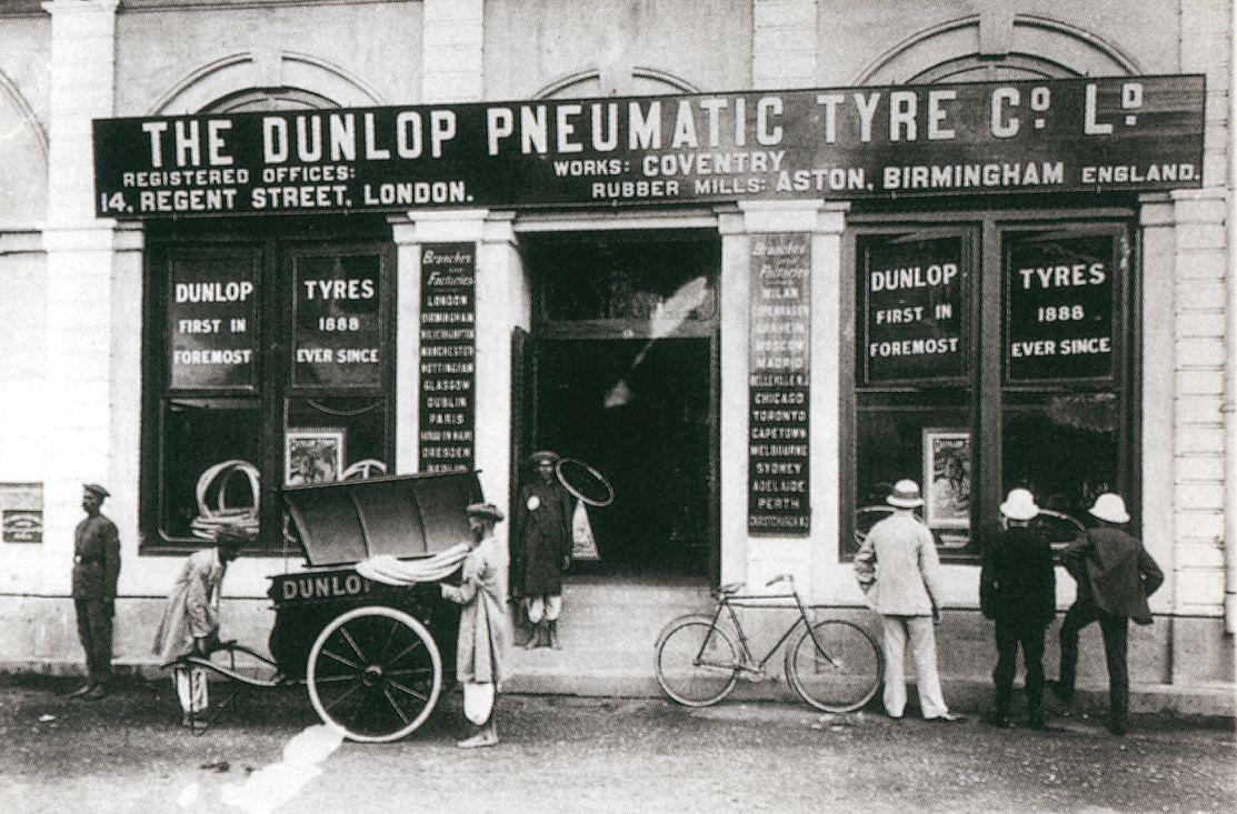 Fábrica Bombay Dunlop Dunlop, Birmingham england, Dunlop