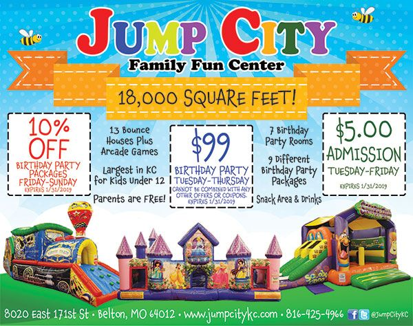 jump city birthday party coupons