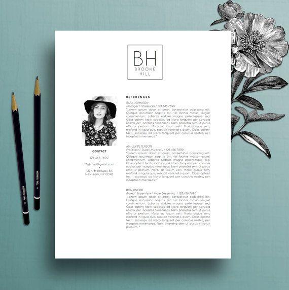 modern resume template professional cv template  ms word  creative resume template  simple