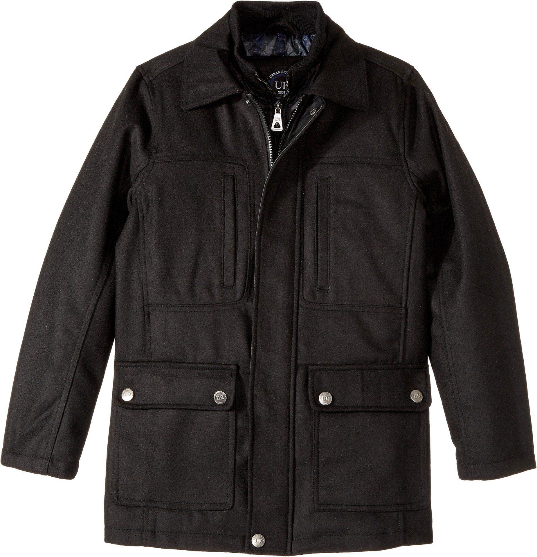 70f2d7d9e Urban Republic Kids Boy s Military Wool Jacket (Little Kids Big Kids ...