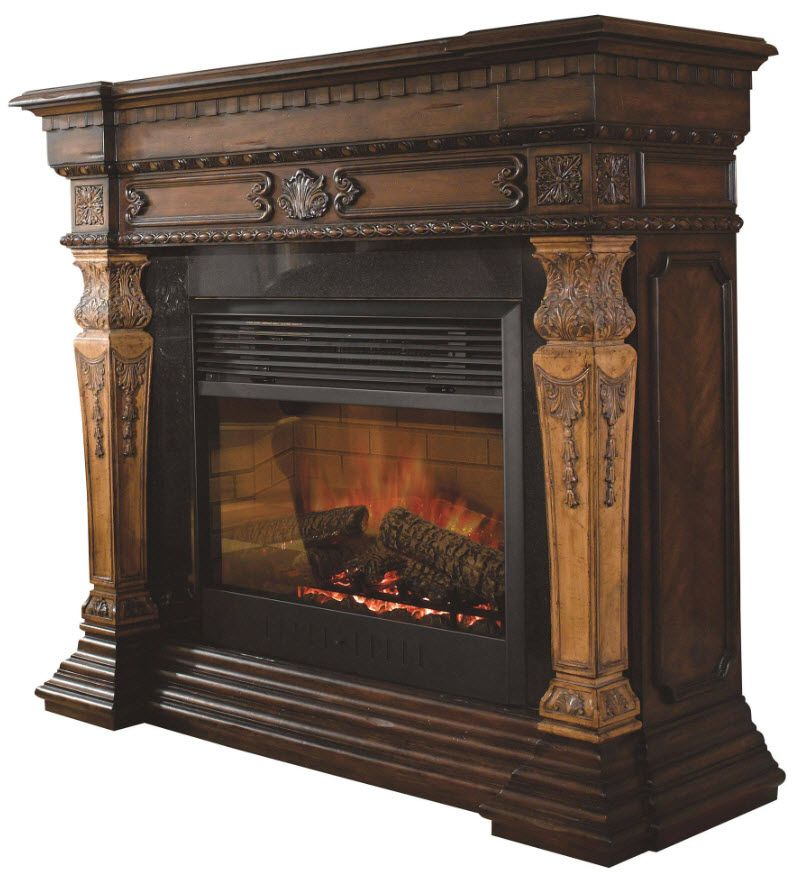 57 5 St Andrews Electric Fireplace Antique Fireplace Mantels Realistic Electric Fireplace Electric Fireplace