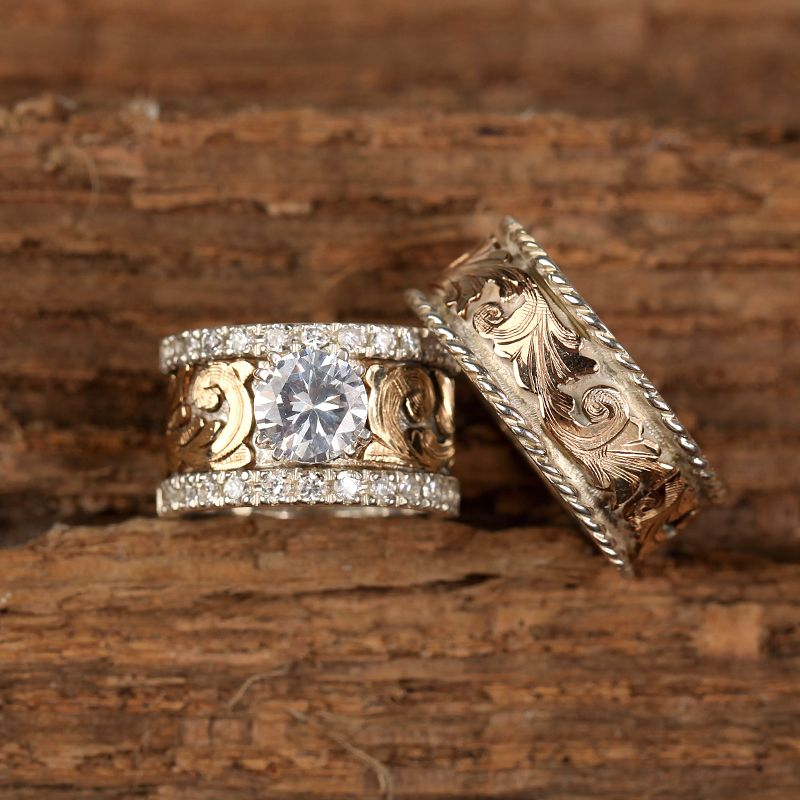 26++ Rustic wedding rings buy information
