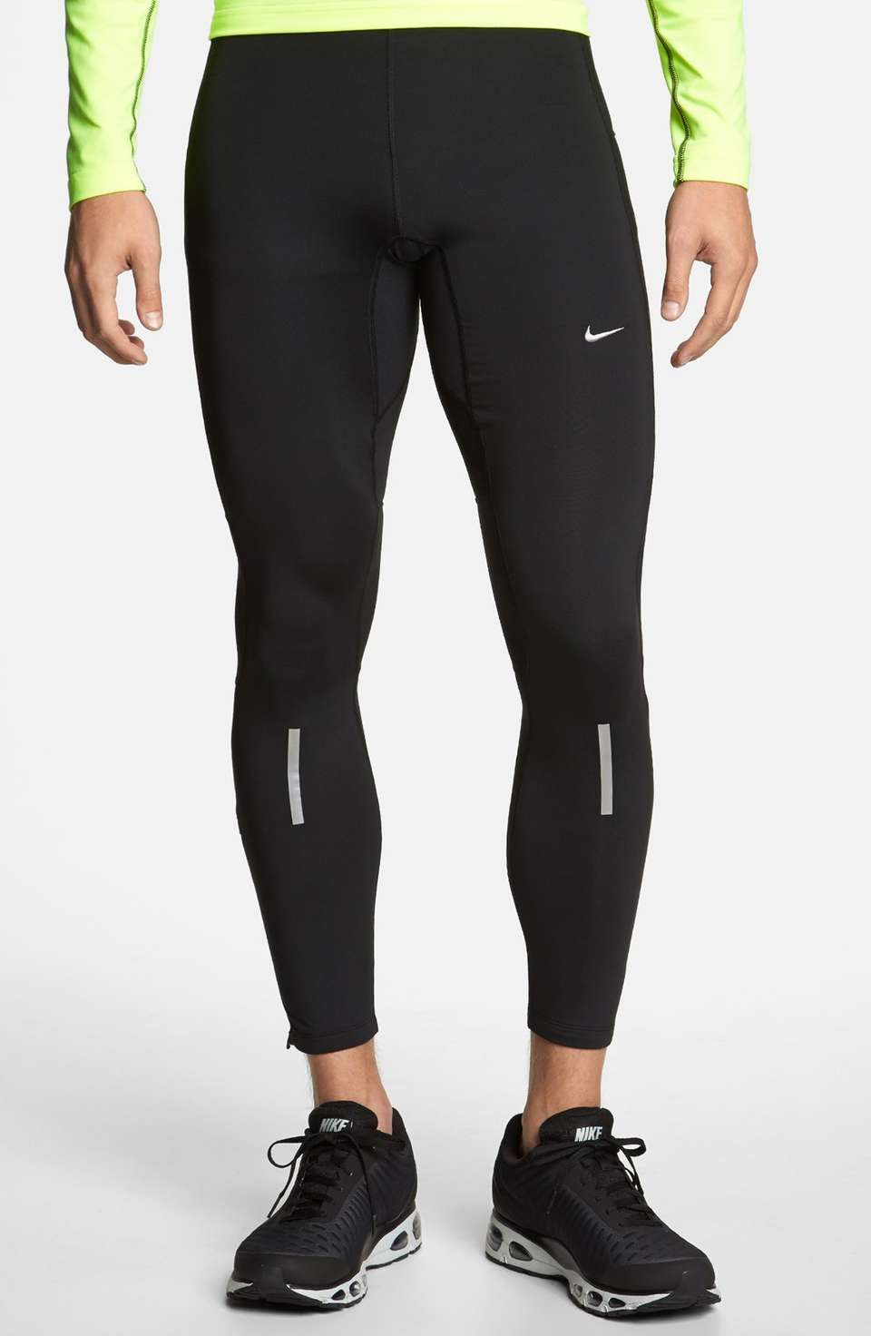 Looking for bike tights or running tights? Something to wear in the gym? Whether your are looking for mild compression, warmth, something against friction, or to show off muscles, these tights made for men, and their footless versions (aka meggings) are all at your service.