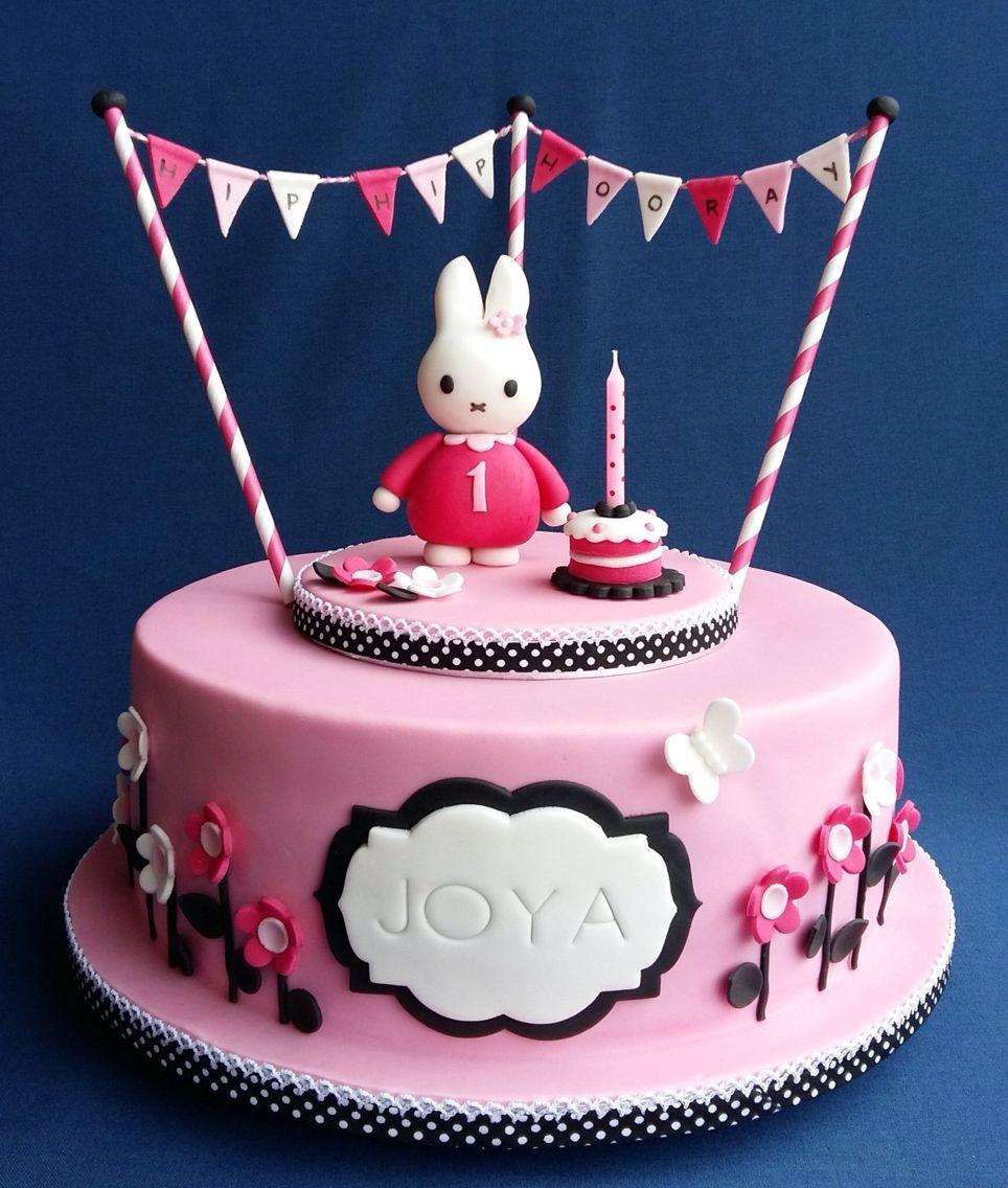 nijntje taart met afbeeldingen taart verjaardagstaart