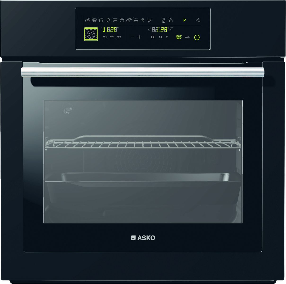 OP8621 Pyrolytic Touch Oven Asko Appliances Kitchen