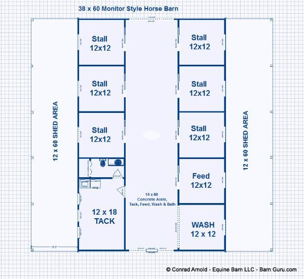 6 stall horse barn plans dream barn all the pretty for 4 stall horse barn plans