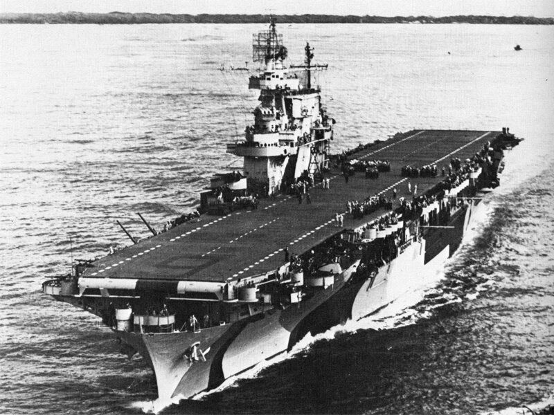 world war ii and aircraft carriers Wreckage from the uss lexington, a us aircraft carrier which sank during world war ii, has been found in the coral sea, a search team led by microsoft co-founder paul allen announced on.