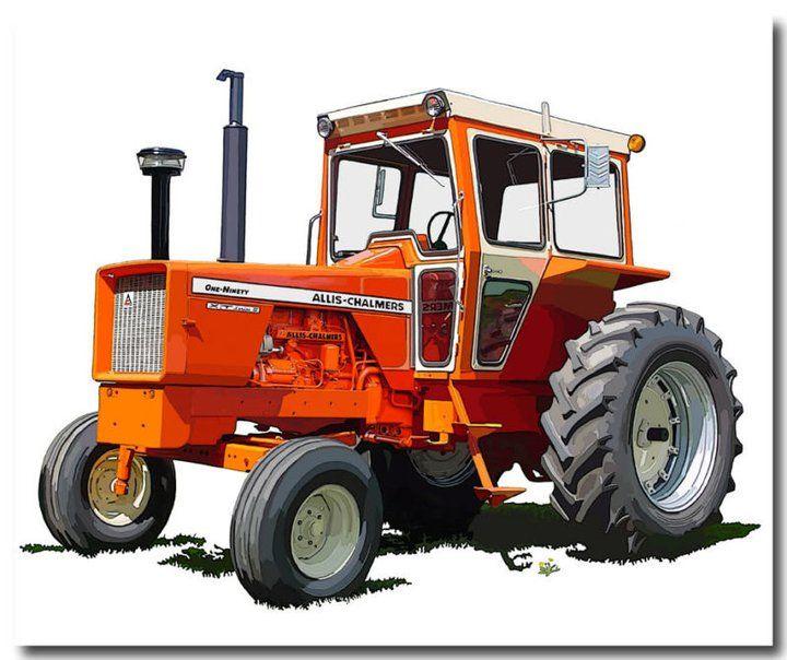 www.orangespectacular.com Allis Chalmers 210 tractor ...