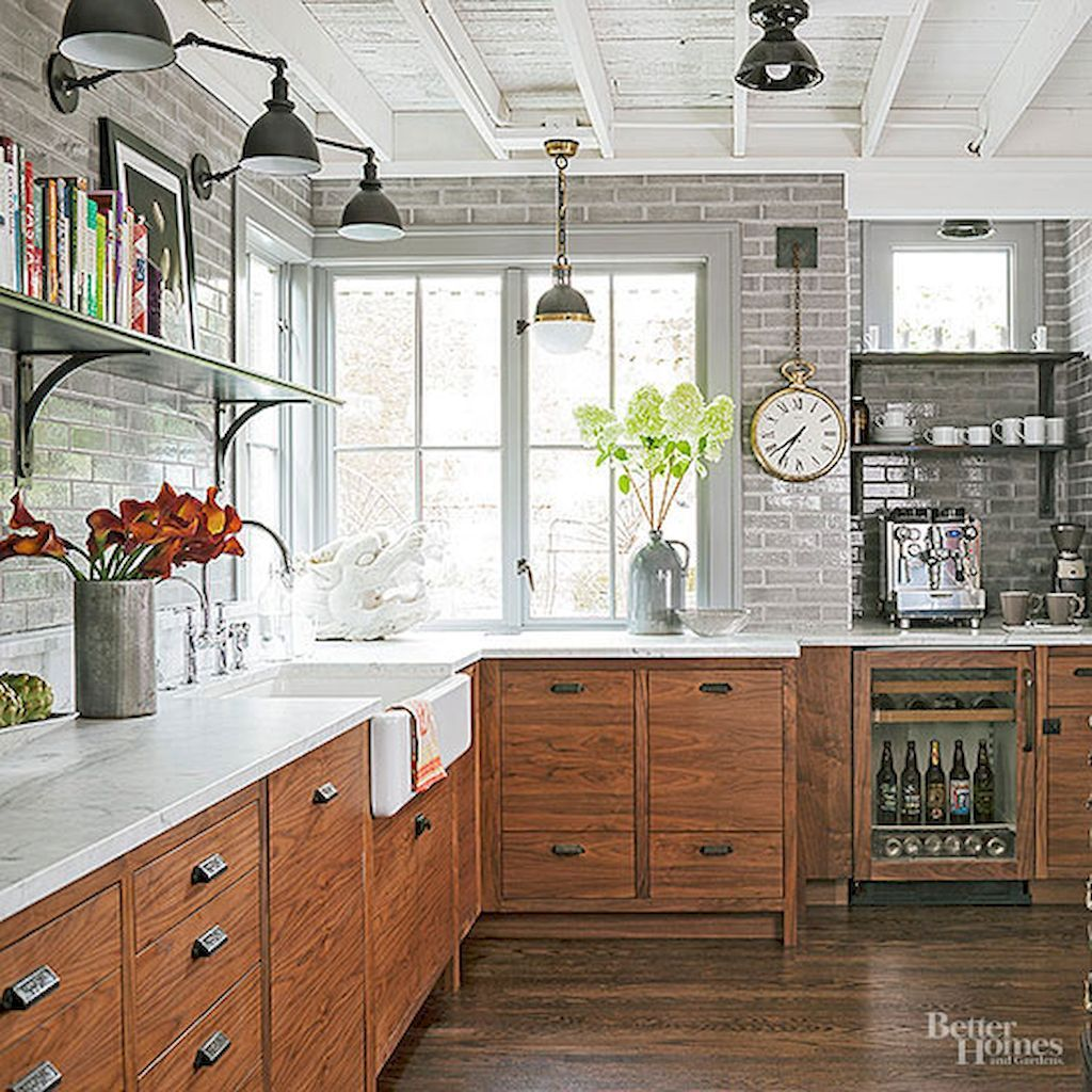 56 Incredible Rustic Kitchen Ideas Photos: 60 Eclectic Kitchen Ideas Remodel For Apartment In 2020