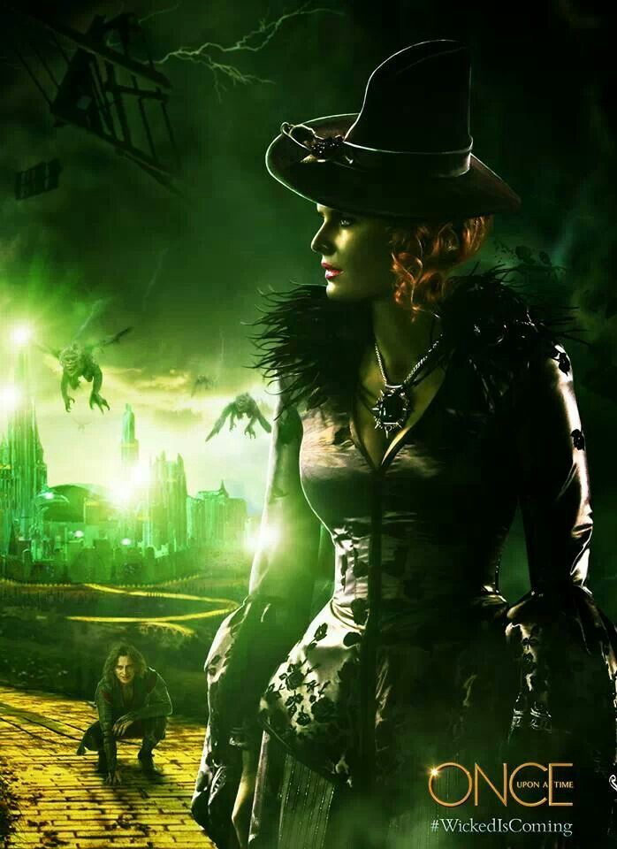 Wicked witch !   Once upon a time.