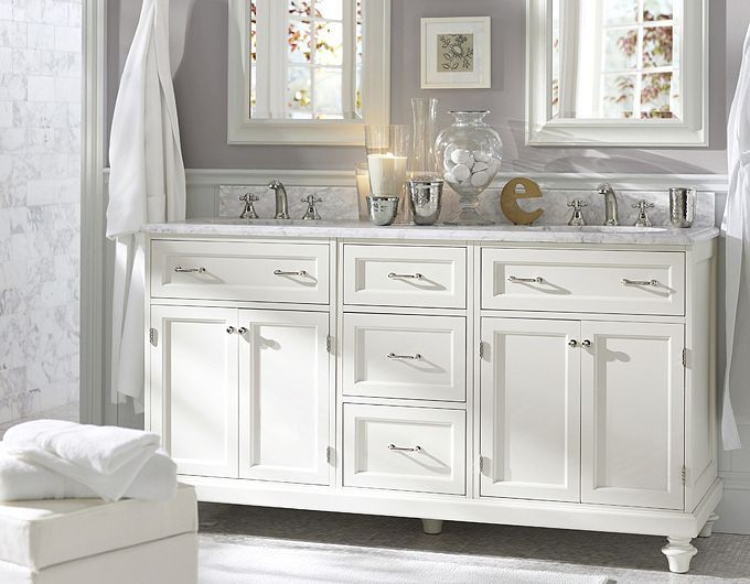 awesome pottery barn bathrooms designs | 28 Elegant and Cozy Interior Designs by Pottery Barn ...