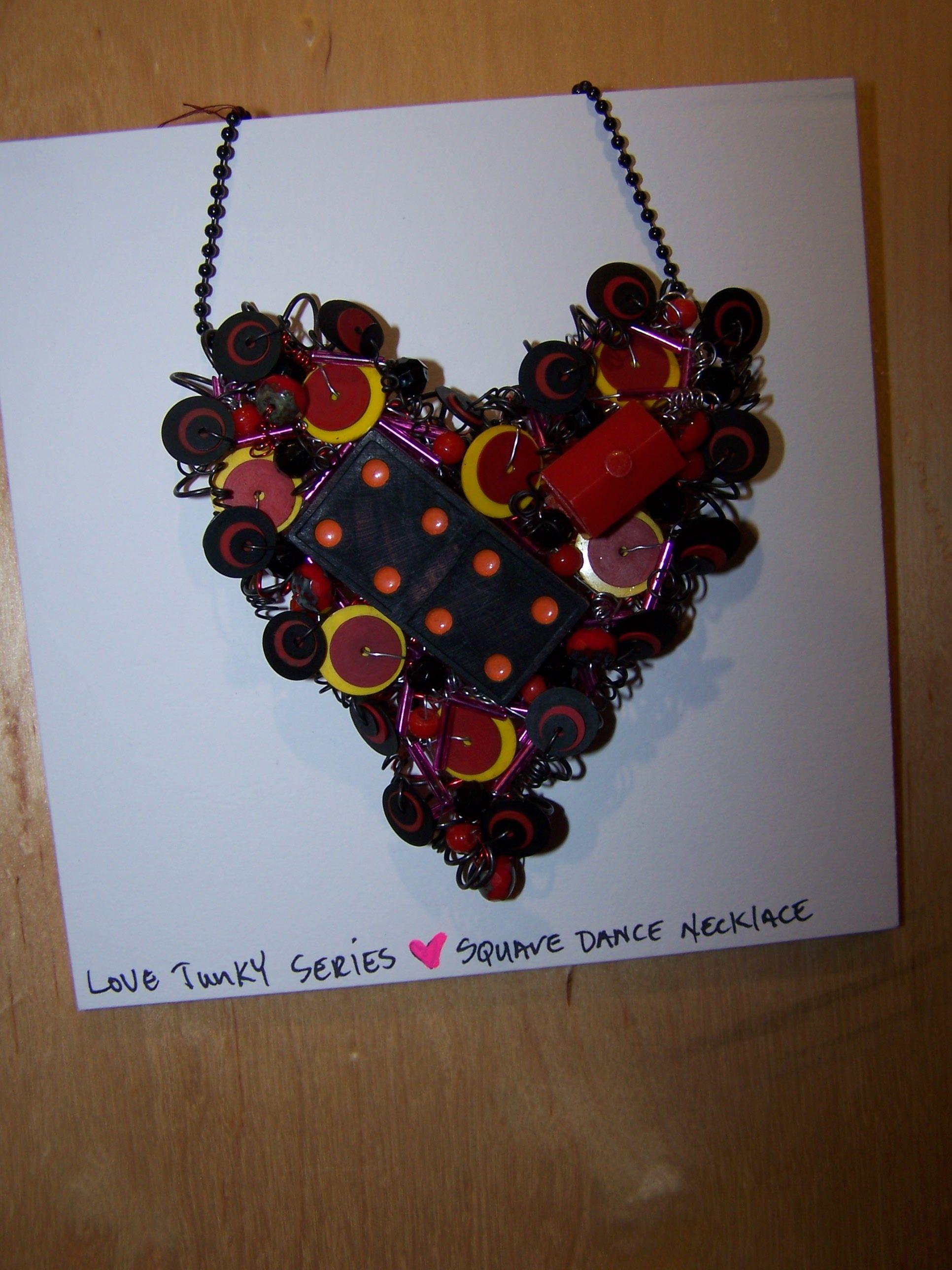 "Shannon Weber, Oregon Love Junk-Y Series ""Square dANCE"""