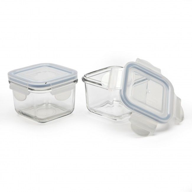 Glasslock Baby 210ml Glass Storage Container   Set Of 2