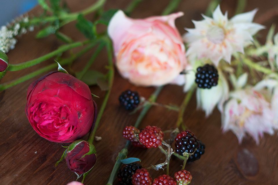 Цветочная кухня: ягодное лакомство weddywood.ru
