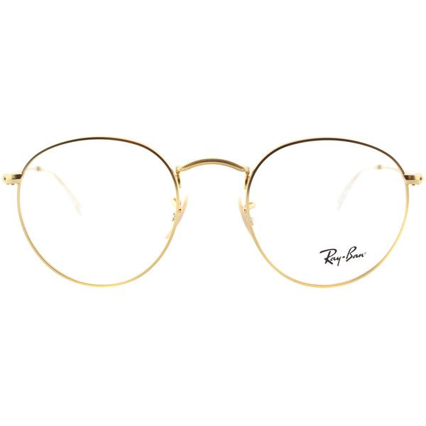6f942f7ff7 ... closeout ray ban rx 3447v 2730 matte gold clubmaster metal eyeglasses  50mm 5655 php liked on