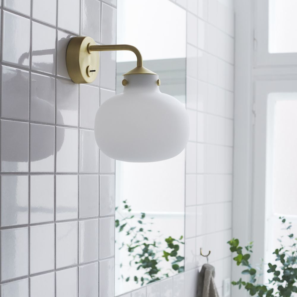 Wandleuchte Raito In Weiss E27 Design For The People 48091001 Wandleuchte Lampendesign Led Lampe