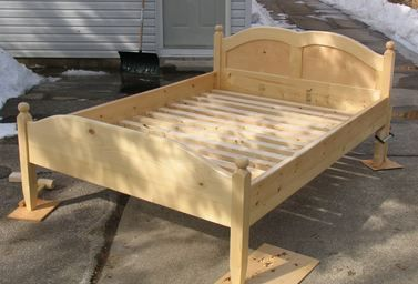 Photo of Building a bed frame