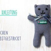 Photo of Kostenlose Anleitung: Bärchen stricken