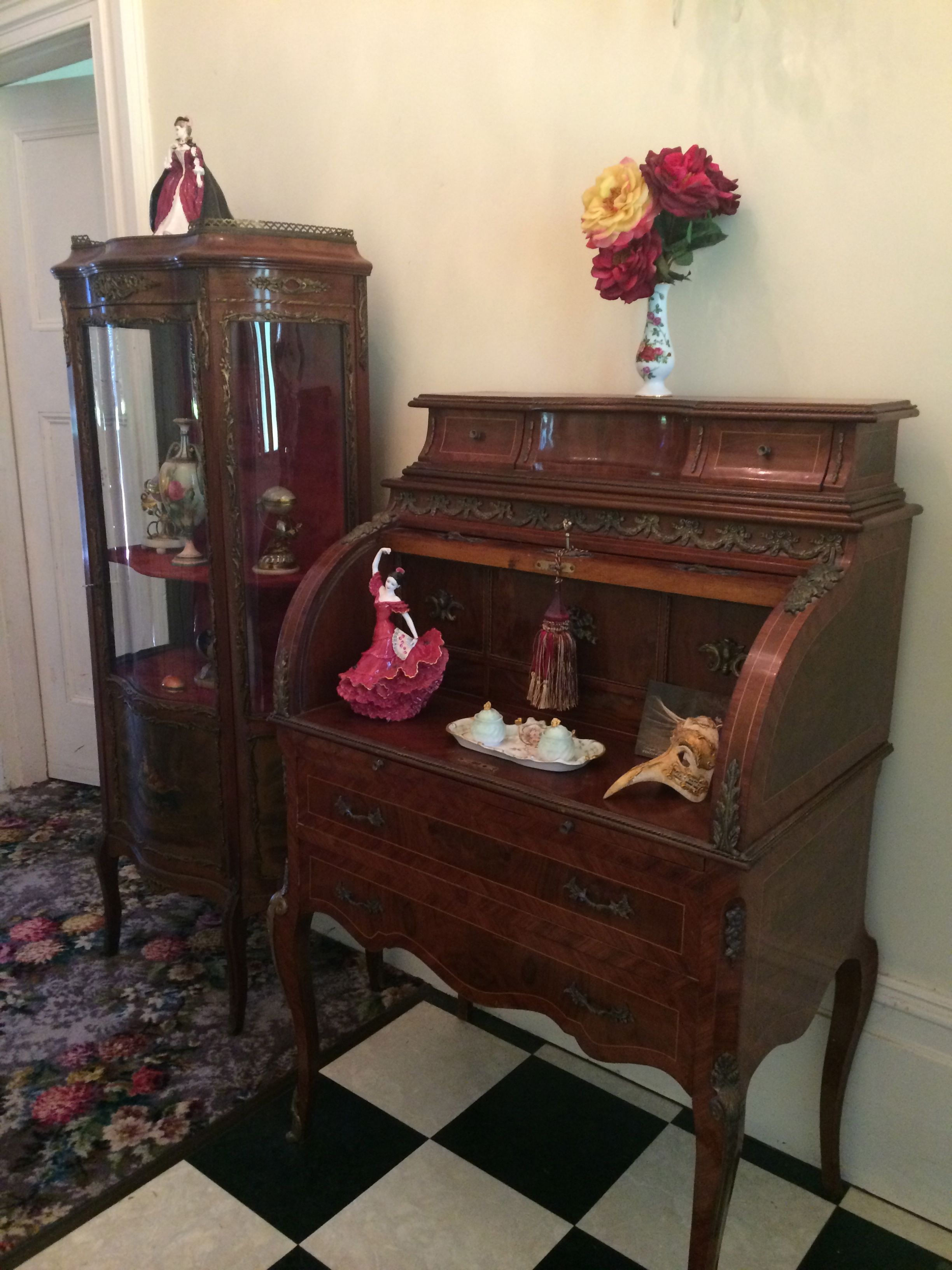 display and writing desk for the bedroom Furniture, Bedroom
