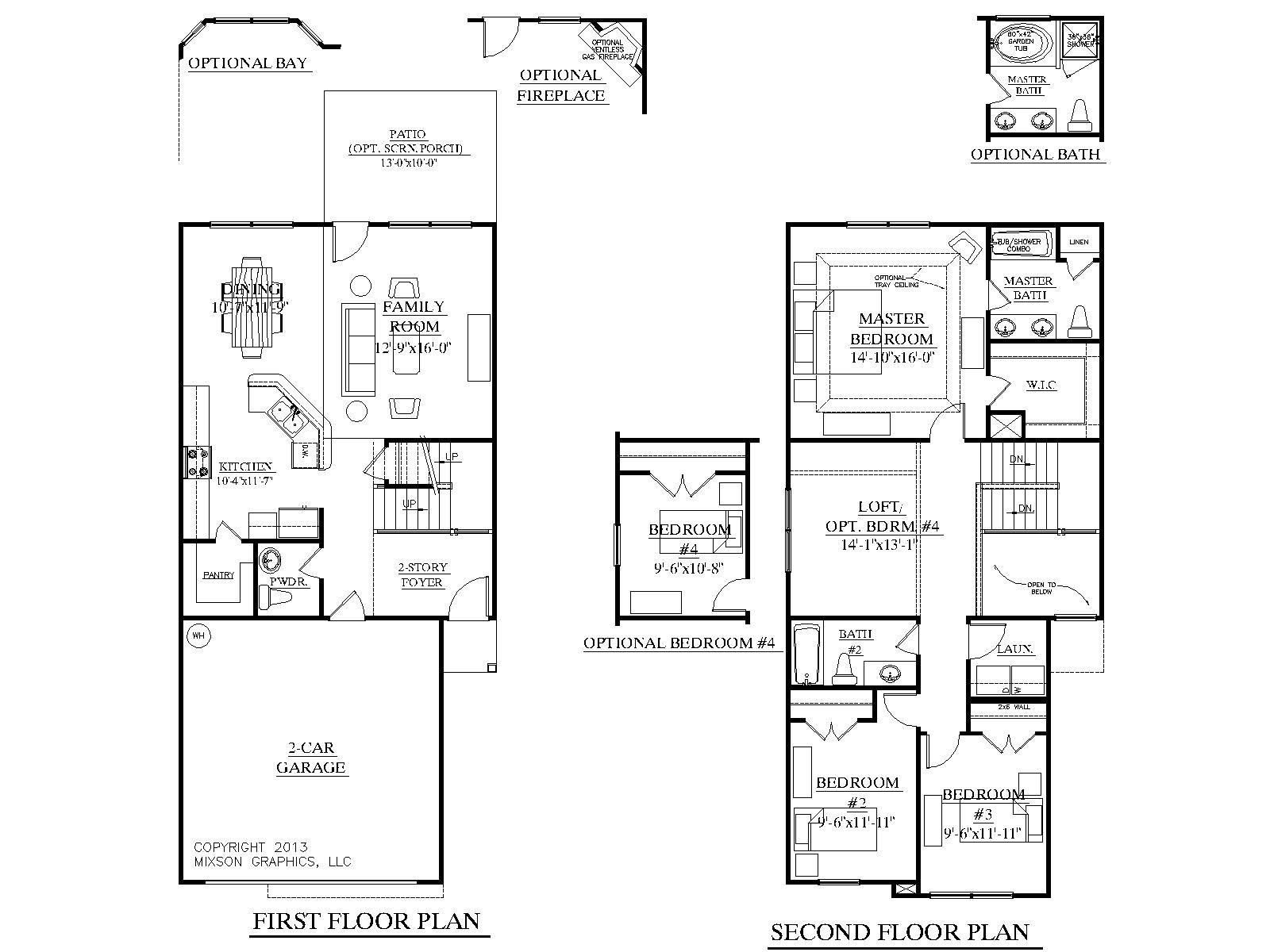 house plans living upstairs bedroom and living room image
