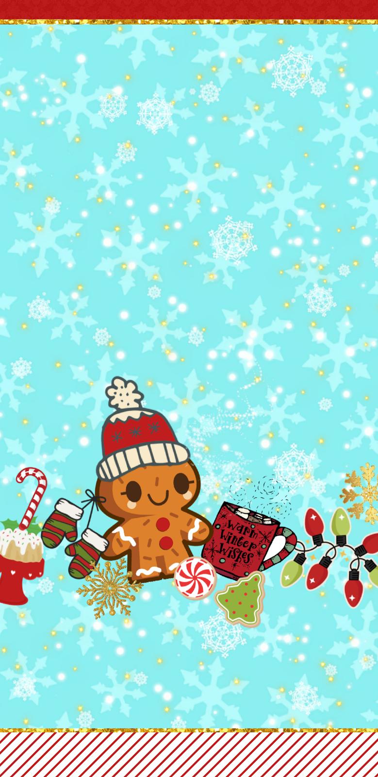 iPhone Wall Christmas tjn Anime christmas, Holiday