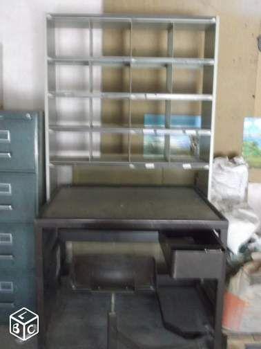 Meuble Tri Postal Equipements Industriels Vendee Leboncoin Fr Etageres Mobiles Mobilier De Salon Industriel