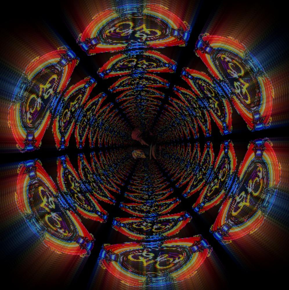 Through The E.L.O.  Wormhole by Lione'sLens
