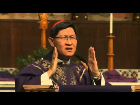 Cardinal Tage Homily - Funny! He can laugh at himself  Theme