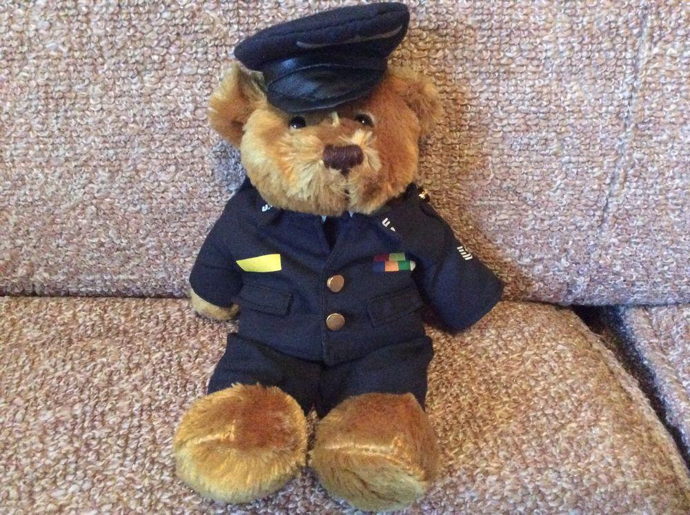 Plushland US Air Force Bear Plushland Bear, Pets for