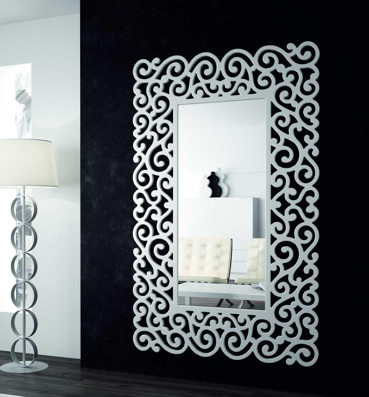 Vitrina mesa centro mesa auxiliar consola entrada espejo espejos espejos espejos - Espejos originales baratos ...