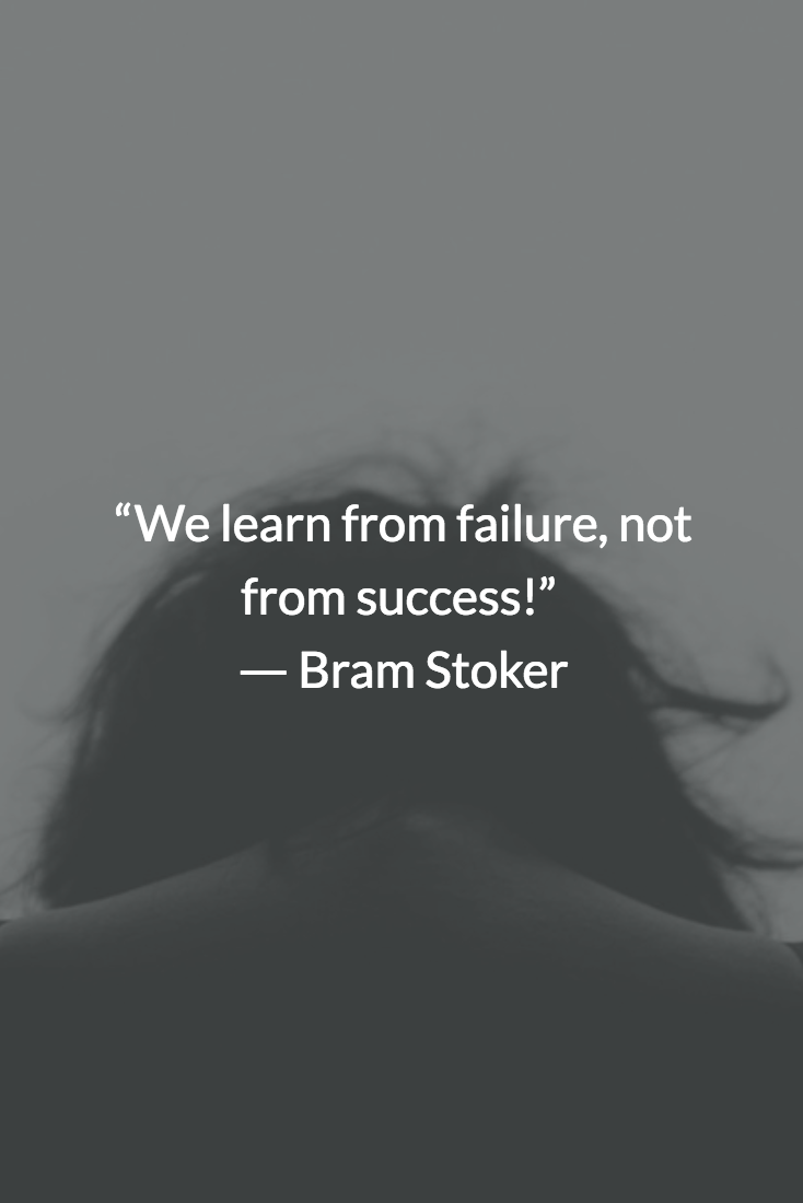 we learn from failure not from success meaning in malayalam