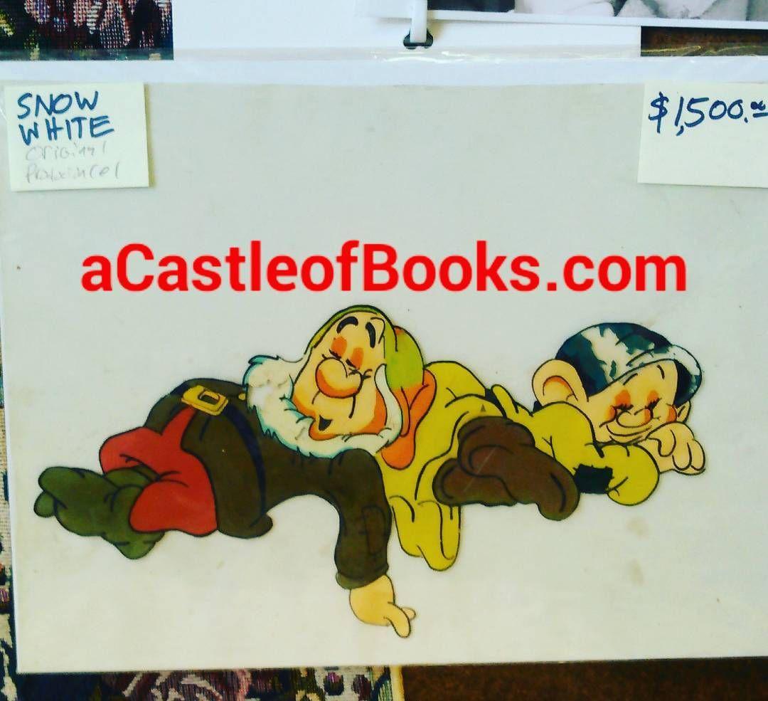 http://ift.tt/2sC4V0U Disney's Snow White Original production animation cel $1500. #snowwhite .. .. .. .. .. .. .. .. .. .. #acastleofbooks #castleofbooks #shoplongbeach #usedbooks #usedbookstore #usedbookstores #longbeach #wrigleylongbeach #buyusedbooks #sellusedbooks #buybooks #sellbooks #sellyourbooks #buyselltrade #discountbooks #animationcel [June 16 2017 at 03:20PM]  via Instagram   http://ift.tt/LPOyAG BUY  TRADE  SELL - Books Comics Toys Movies Games Music & Ephemera. #UsedBooks…