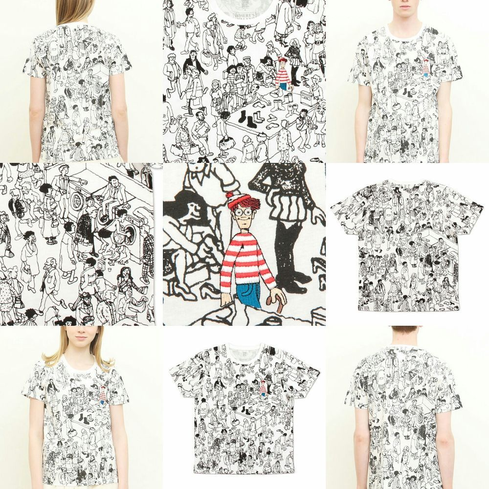 [Pre-order] Where's  Wally x graniph 協作百貨公司白色短tee via Hoebuy. Click on the image to see more!