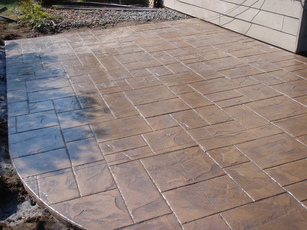 Image of: Stamped Concrete Photos | Backyard Ideas | Pinterest ...