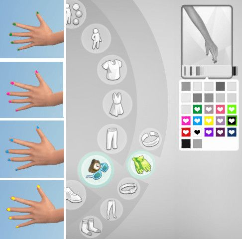 Non Default Nail Polish 14 Colors At Alazarrazr Via Sims 4 Updates Sims Stuff Sims 4 Nails