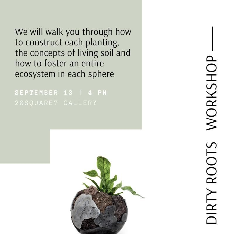 Dirty Roots, designers of handcrafted and one-of-a-kind plant containers and experted planters, invites you to its workshop. #gardening #garden #gardeningideas #planting #plantingideas #livingsoil #diyprojects #diyideas #greenhouse #greenhome #homeplants #houseplants #plants #plantcontainer #workshop #freetime #handcraft #creativity #learning #Berlin #activitiesinBerlin #september
